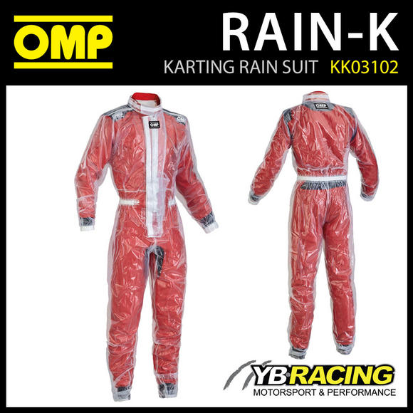 SALE! OMP RAIN-K KARTING RAIN WET SUIT for KIDS CHILDRENS CADET JUNIOR BAMBINO