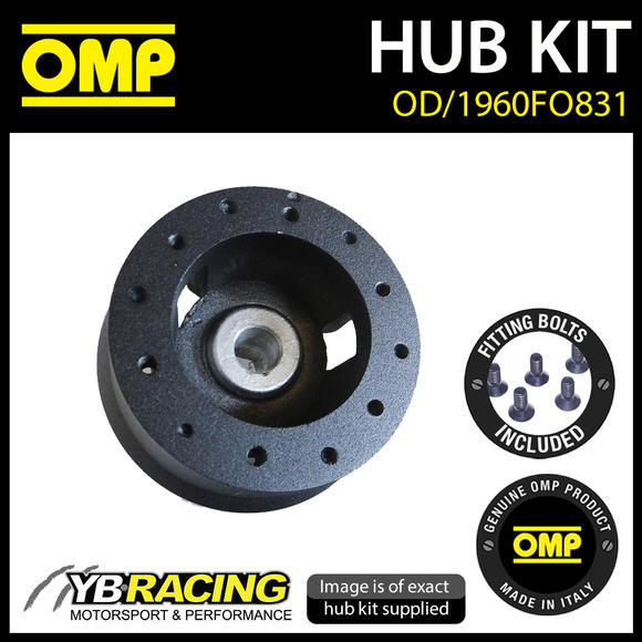 OD/1960FO831 OMP STEERING WHEEL HUB BOSS fits FORD FIESTA MK2 inc XR2 83-89