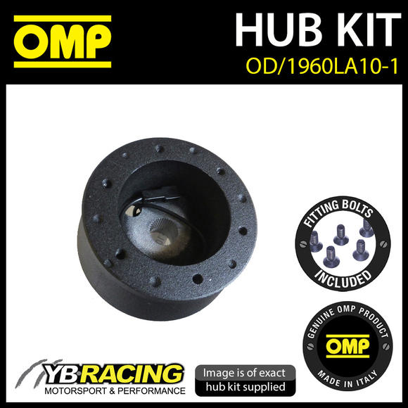 OD/1960LA10-1 OMP RACING STEERING WHEEL HUB BOSS fits LANCIA Y10 1984-1991