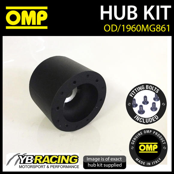 OD/1960MG861 OMP RACING STEERING WHEEL HUB BOSS KIT (ALSO FITS SPARCO & MOMO)