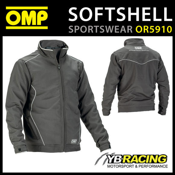 OR5910 OMP Racing Spirit Softshell Sports Jacket Coat Windproof Breathable