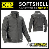 New! OR5910 OMP Racing Spirit Softshell Sports Jacket Coat Windproof Breathable