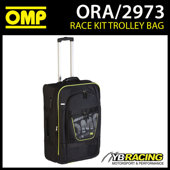 ORA/2973 OMP Racewear Driver Kit Trolley Bag to carry Race Suit / Gloves / Boots