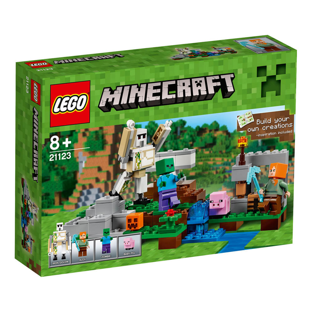 21123 LEGO The Iron Golem MINECRAFT