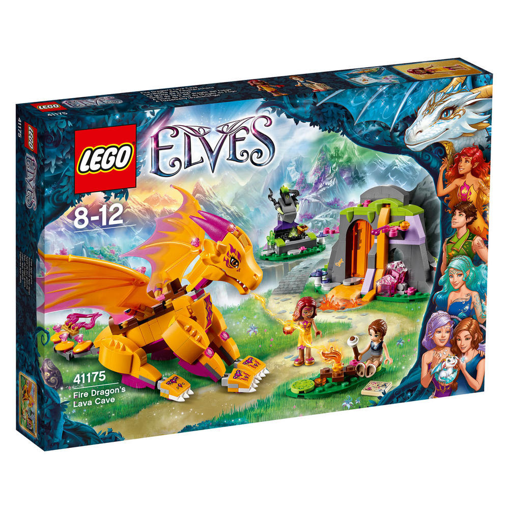 41175 LEGO Fire Dragon's Lava Cave ELVES