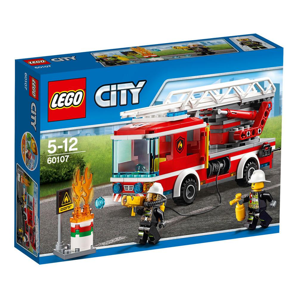 60107 LEGO Fire Ladder Truck CITY FIRE
