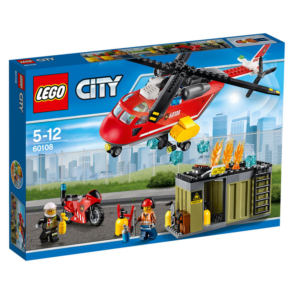 60108 LEGO Fire Response Unit CITY FIRE