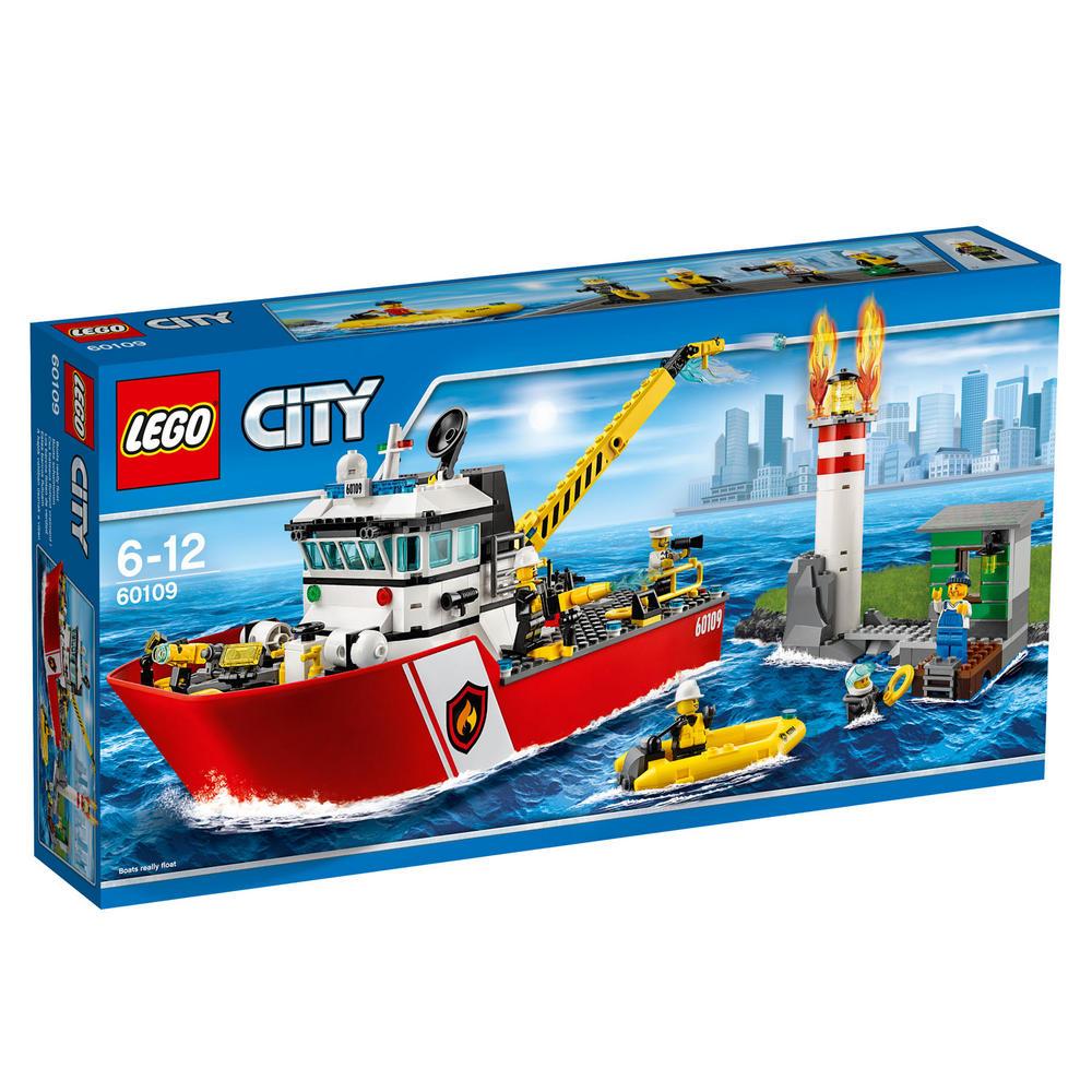 60109 LEGO Fire Boat CITY FIRE