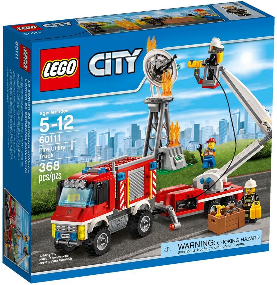 60111 LEGO Fire Utility Truck CITY FIRE