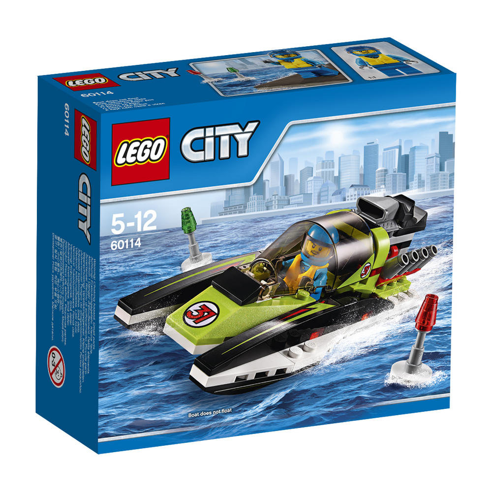 60114 LEGO Race Boat CITY GREAT VEHICLES