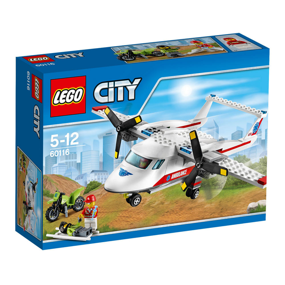 60116 LEGO Ambulance Plane CITY GREAT VEHICLES