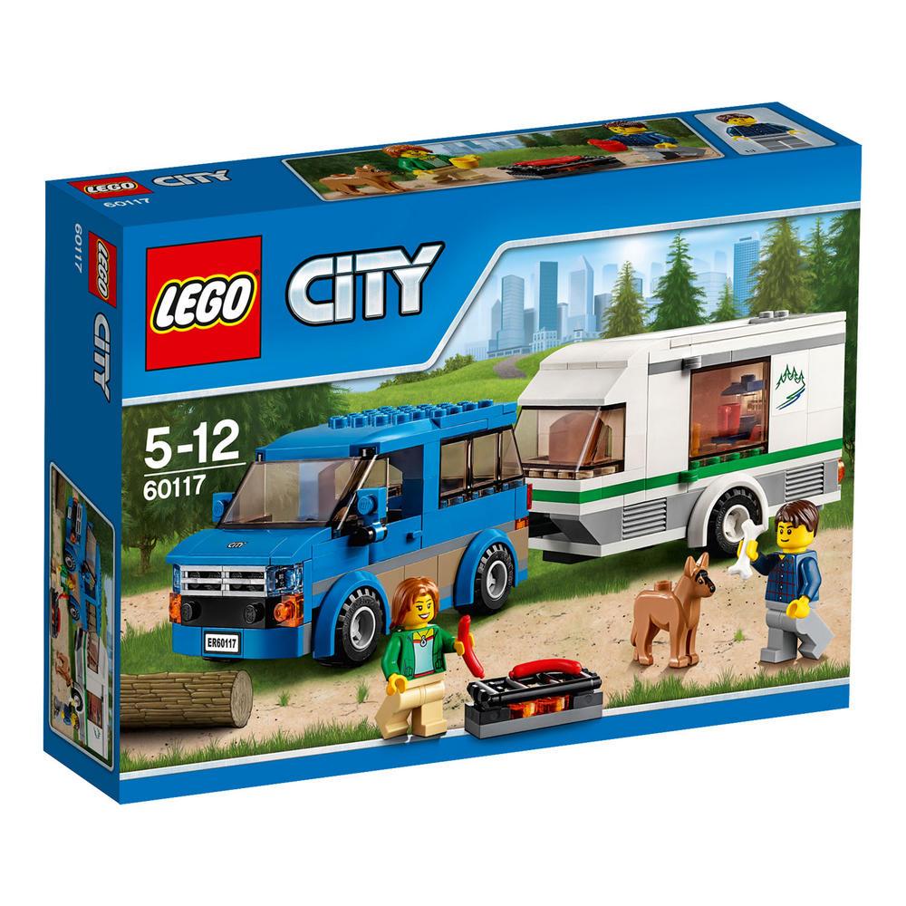 60117 LEGO Van & Caravan CITY GREAT VEHICLES