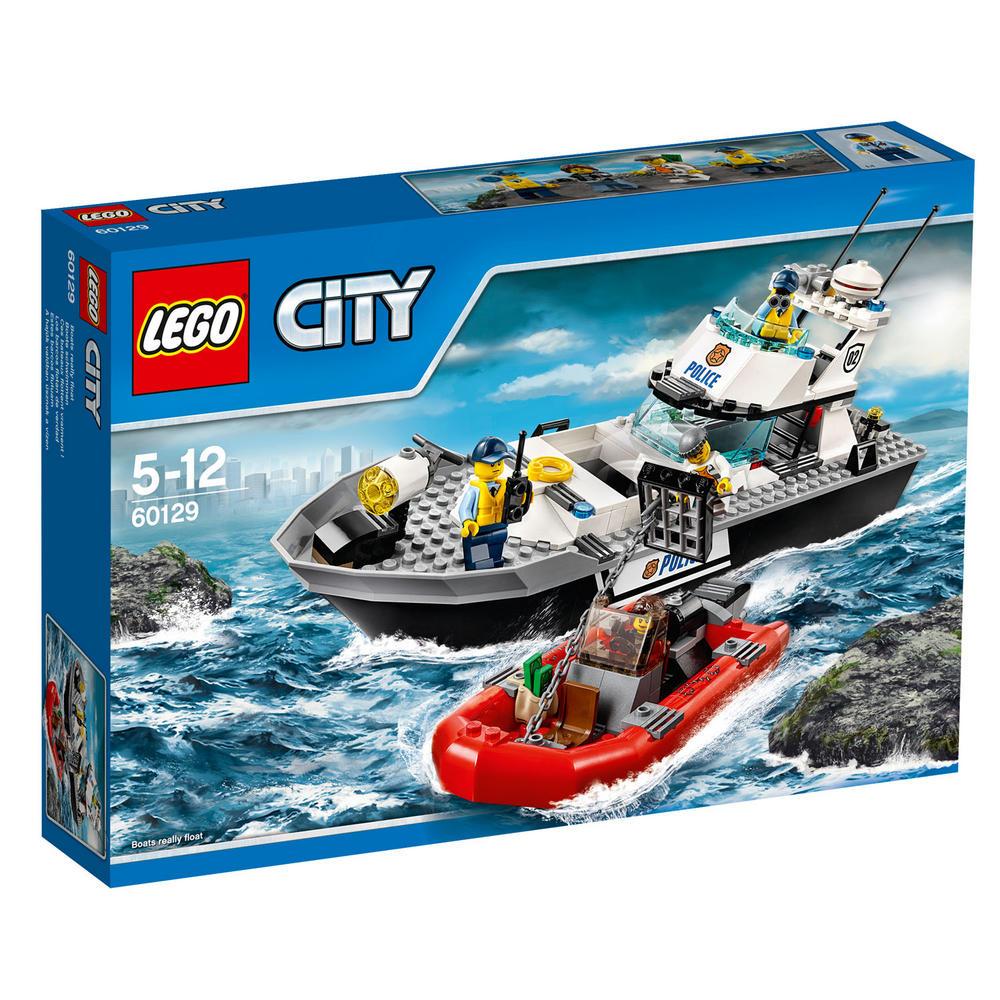 60129 LEGO Police Patrol Boat CITY POLICE