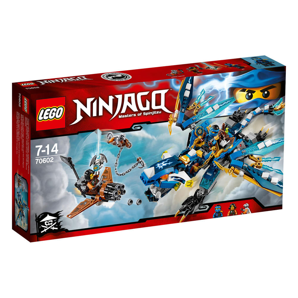 70602 LEGO Jay's Elemental Dragon NINJAGO