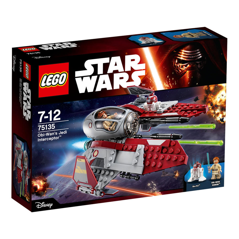 75135 LEGO Obi-Wan's Jedi Interceptor STAR WARS CLASSIC