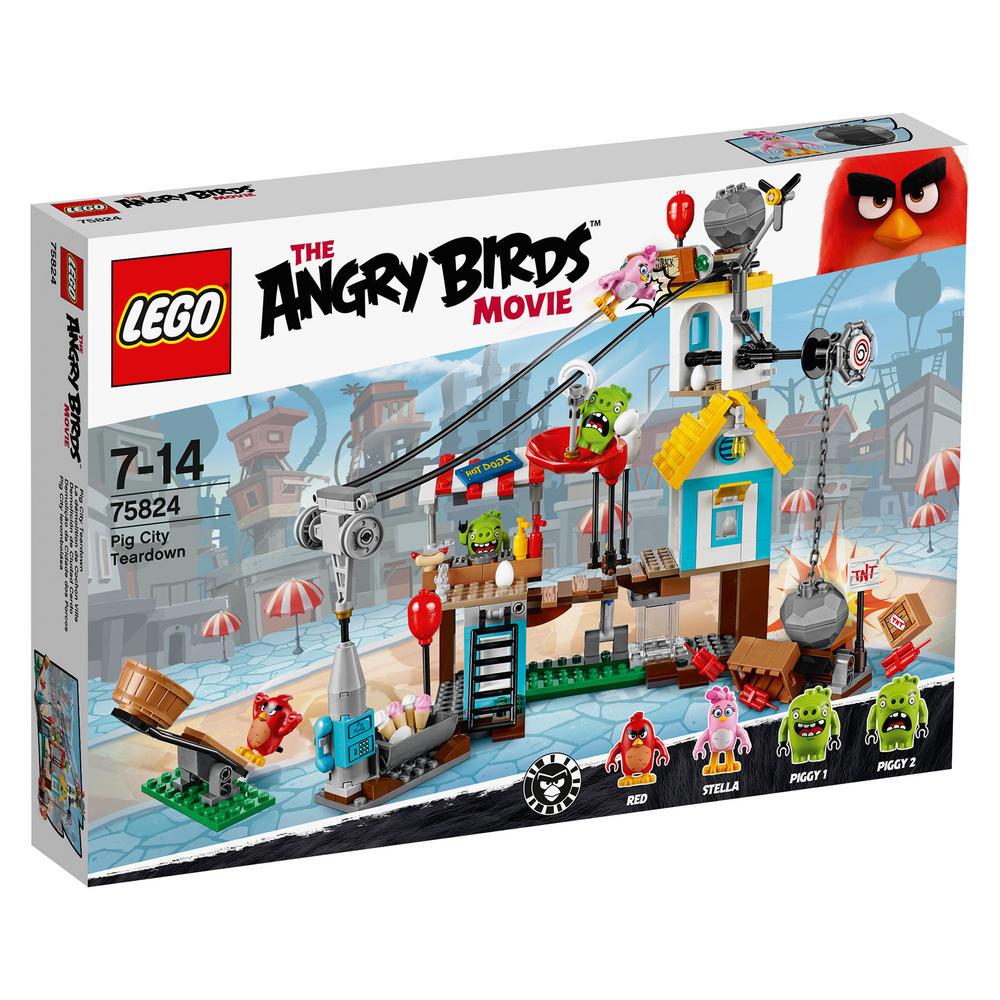 75824 LEGO Pig City Teardown ANGRY BIRDS