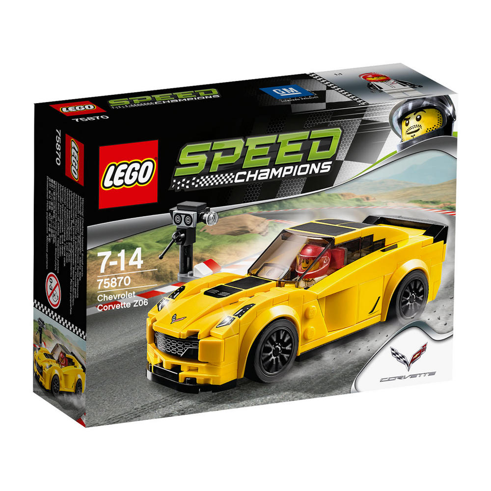 75870 LEGO Chevrolet Corvette Z06 SPEED CHAMPIONS
