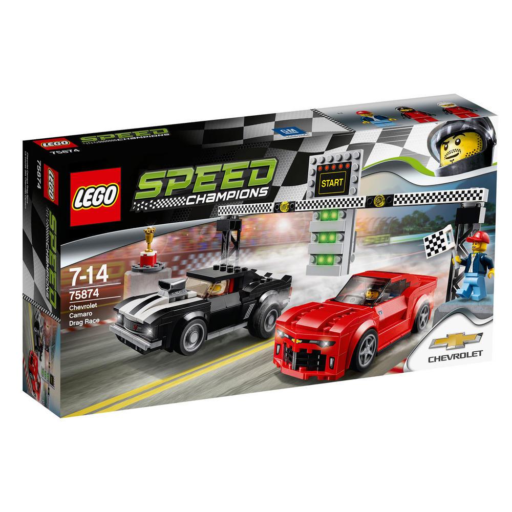 75874 LEGO Chevrolet Camaro Drag Race SPEED CHAMPIONS