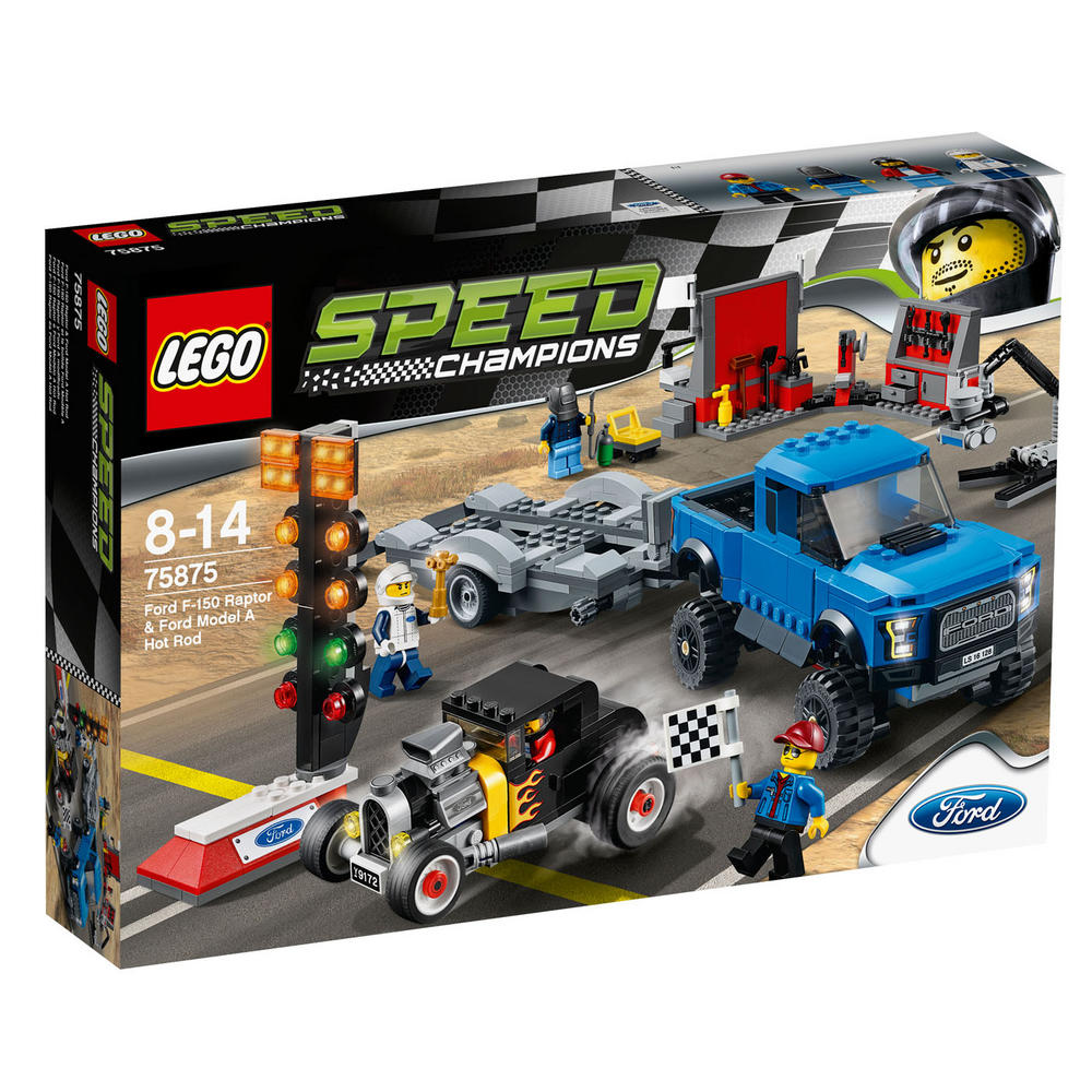 75875 LEGO Ford F-150 Raptor & Ford Model A Hot Rod SPEED CHAMPIONS