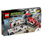 75876 LEGO Porsche 919 Hybrid and 917K Pit Lane SPEED CHAMPIONS