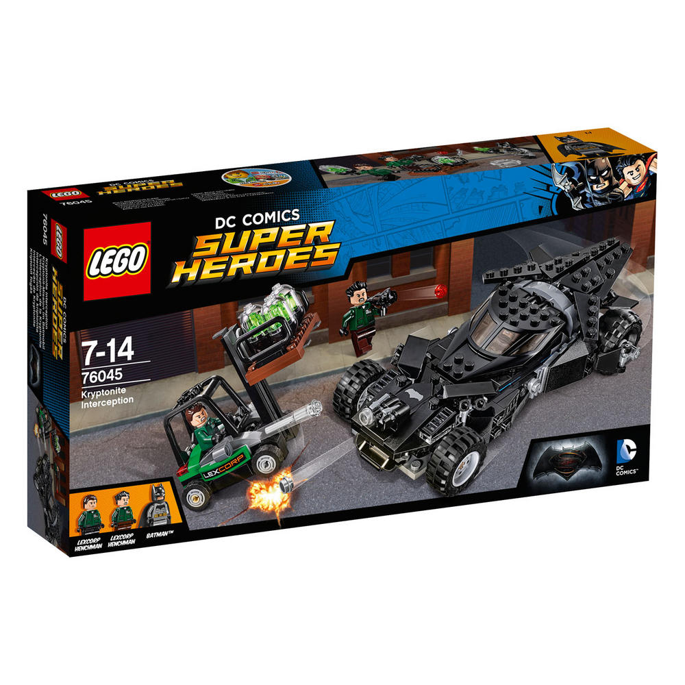 76045 LEGO Kryptonite Interception DC COMICS BATMAN V SUPERMAN