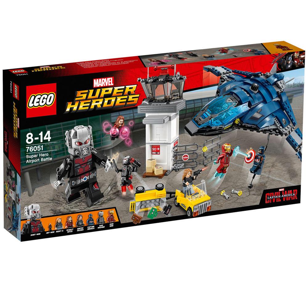 76051 LEGO Super Hero Airport Battle MARVEL CAPTAIN AMERICA