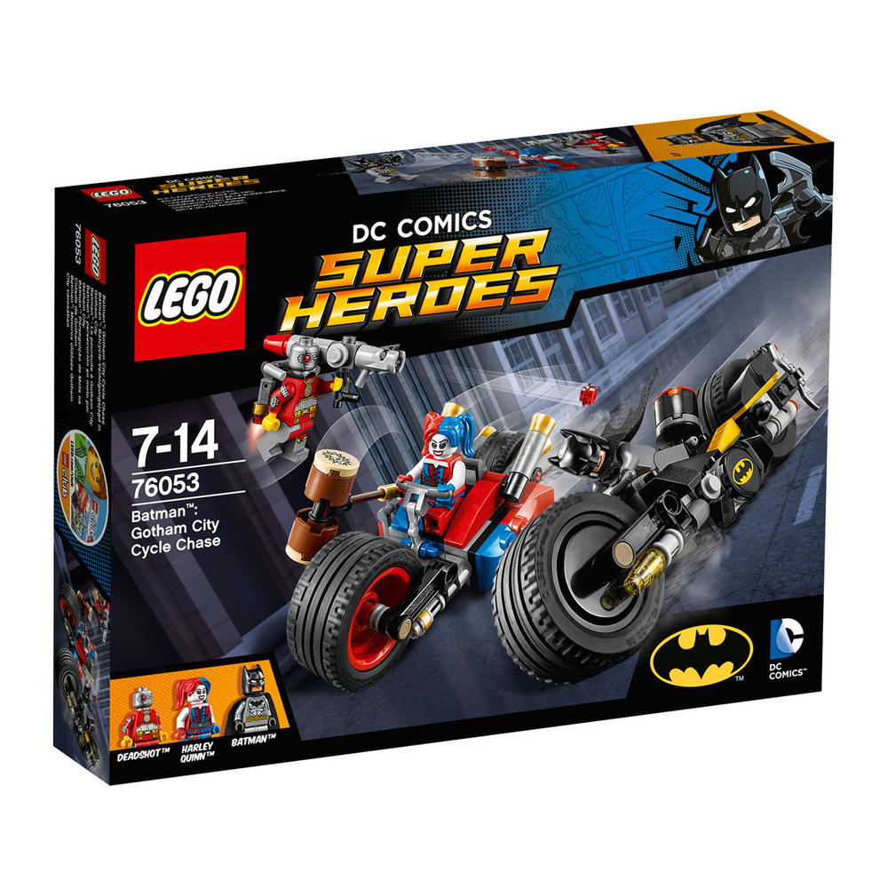 76053 LEGO Batman: Gotham City Cycle Chase DC COMICS BATMAN