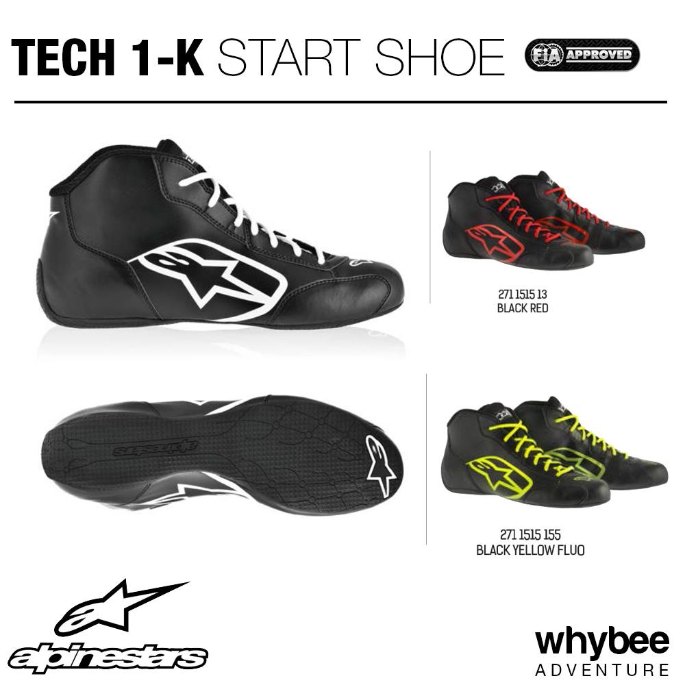 ad6231169cc 2711515 Alpinestars TECH-1 K START BOOTS Entry Level Karting Boots