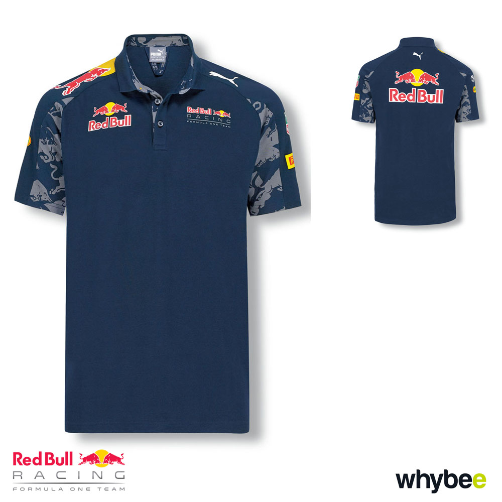 sale red bull racing f1 formula 1 teamline mens team polo shirt by puma red bull racing yb. Black Bedroom Furniture Sets. Home Design Ideas