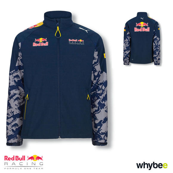 Sale! Red Bull Racing F1 Formula 1 Teamline MENS Softshell Jacket Coat by PUMA