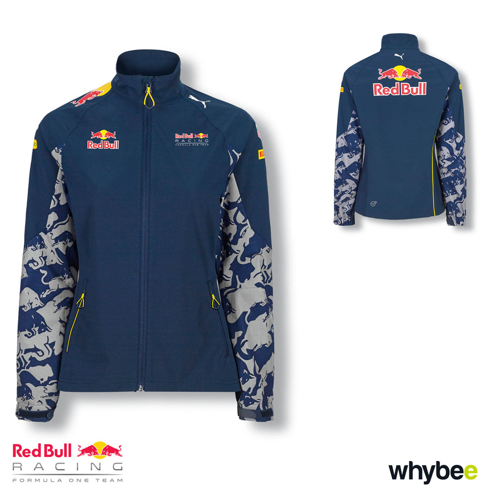 Sale! Red Bull Racing F1 Formula 1 Team WOMENS Softshell Jacket Ladies Coat PUMA