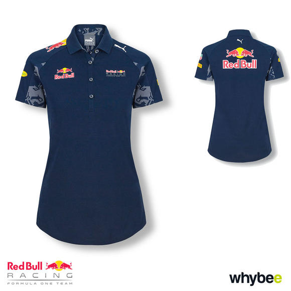 Sale! Red Bull Racing F1 Formula 1 WOMENS TEAM POLO SHIRT LADIES FIT by PUMA