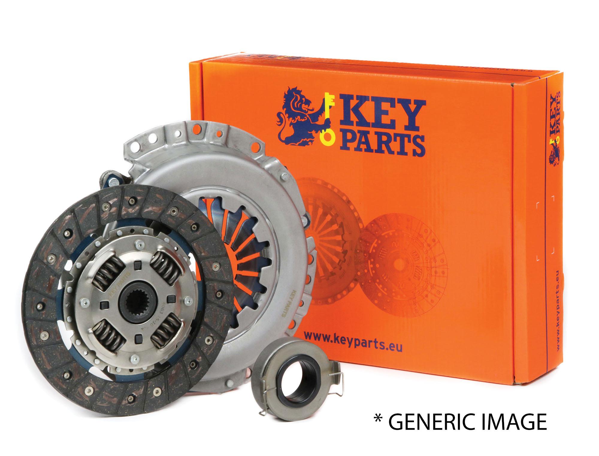 Fits Skoda Fabia 1.4 TDI Genuine Borg /& Beck 3-In-1 Clutch Kit
