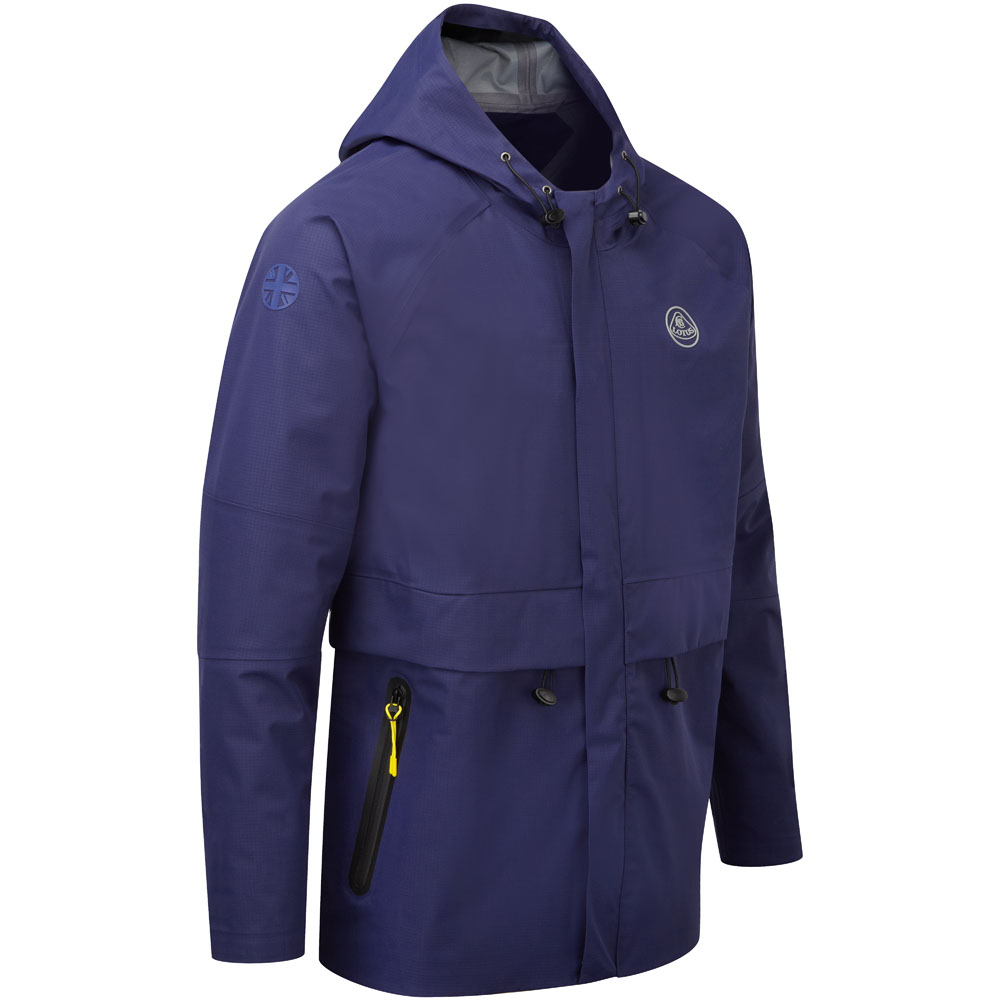 Sale! Lotus Cars Lightweight Waterproof Jacket Coat Blue - Official Merchandise
