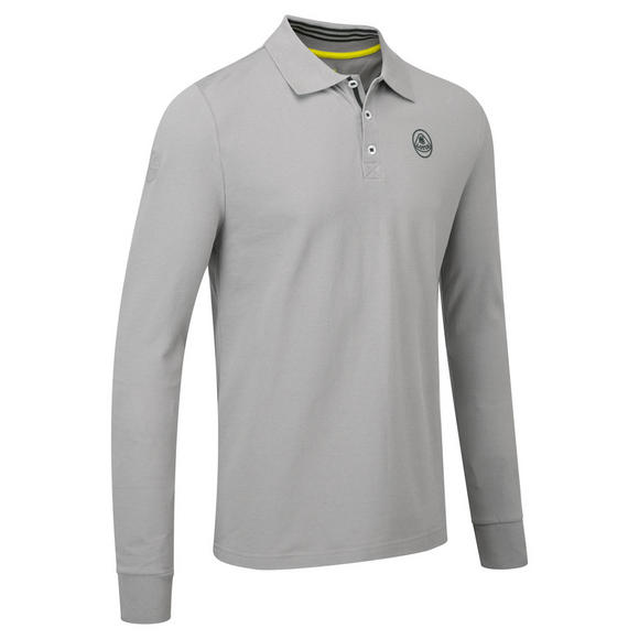 New! Lotus Cars Classic Mens Long Sleeve Polo Shirt and Button Collar Size S-XXL