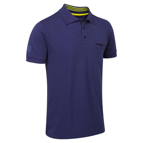 New! Lotus Cars Classic Mens Polo Shirt Dark Blue Short Sleeve 100% Cotton