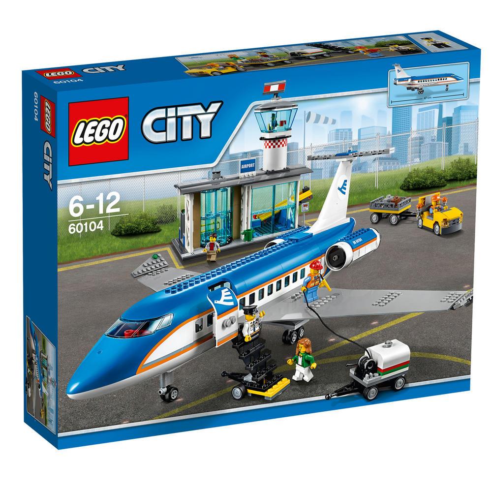60104 LEGO Airport Passenger Terminal CITY AIRPORT