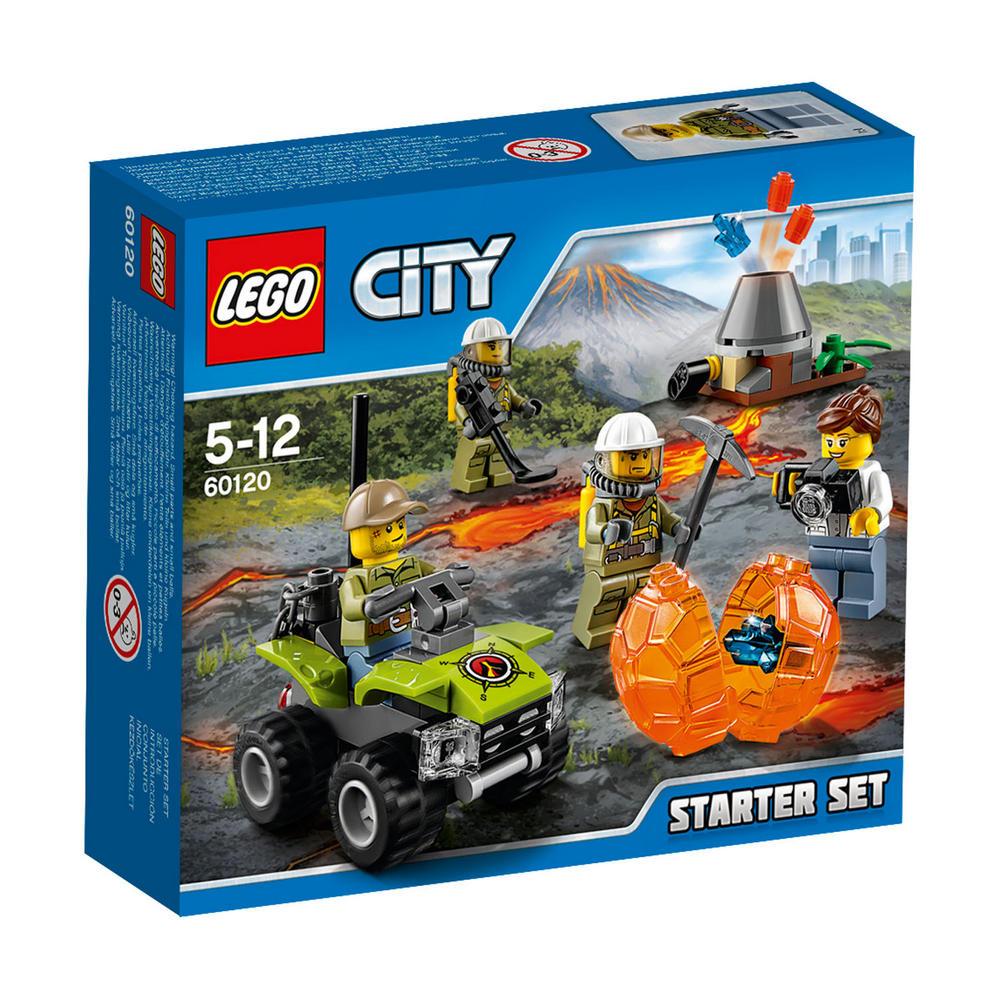 60120 LEGO Volcano Starter Set CITY VOLCANO EXPLORERS