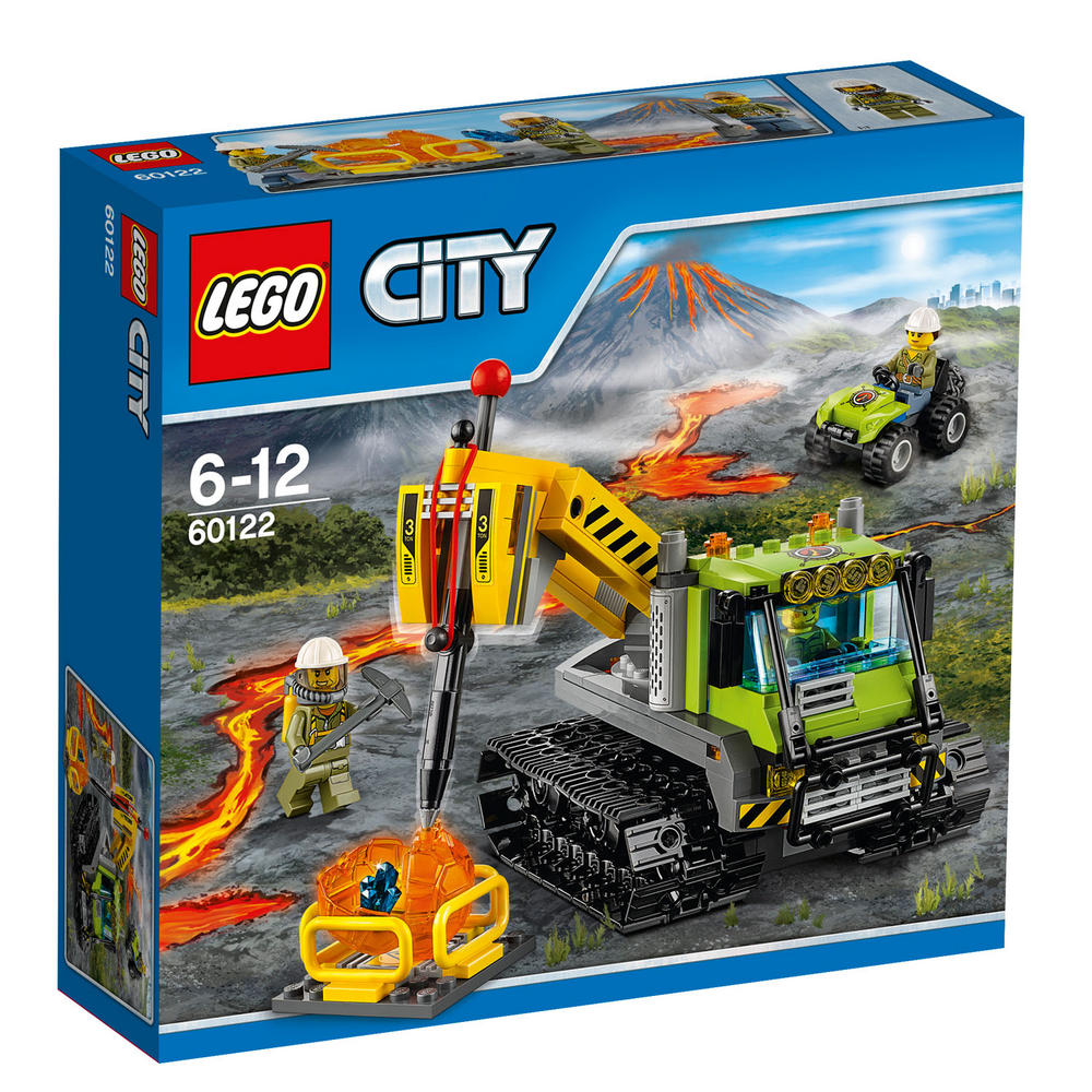 60122 LEGO Volcano Crawler CITY VOLCANO EXPLORERS