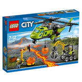 60123 LEGO Volcano Supply Helicopter CITY VOLCANO EXPLORERS
