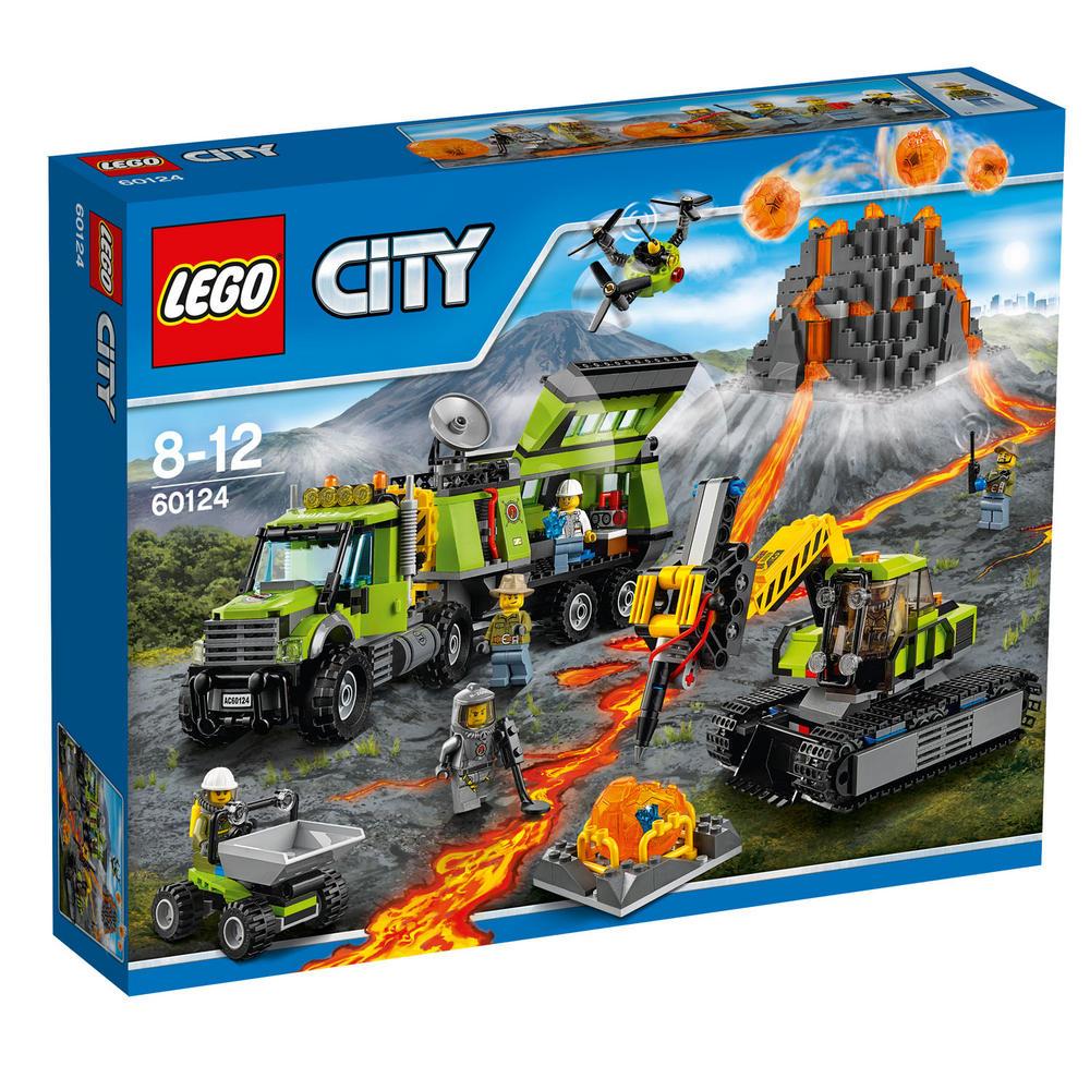 60124 LEGO Volcano Exploration Base CITY VOLCANO EXPLORERS
