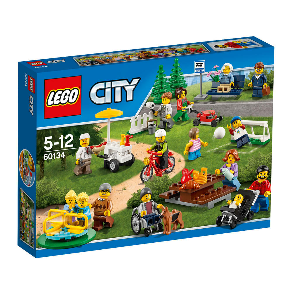 60134 LEGO Fun In The Park - City People Pack CITY TOWN
