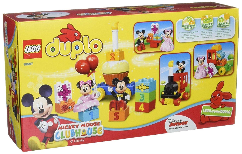 Calendrier Avent Duplo.Details About 10597 Lego Duplo Mickey Minnie Birthday Parade Duplo Disney