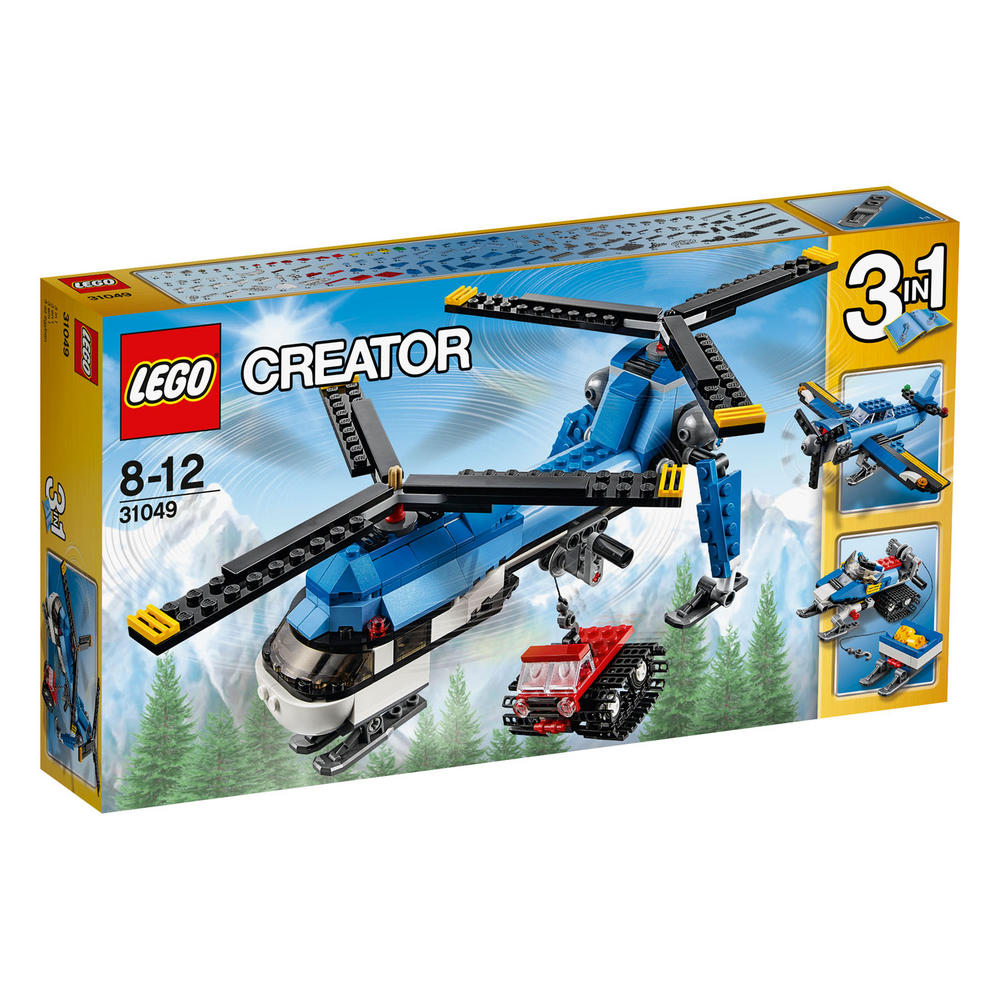 31049 LEGO Twin Spin Helicopter CREATOR