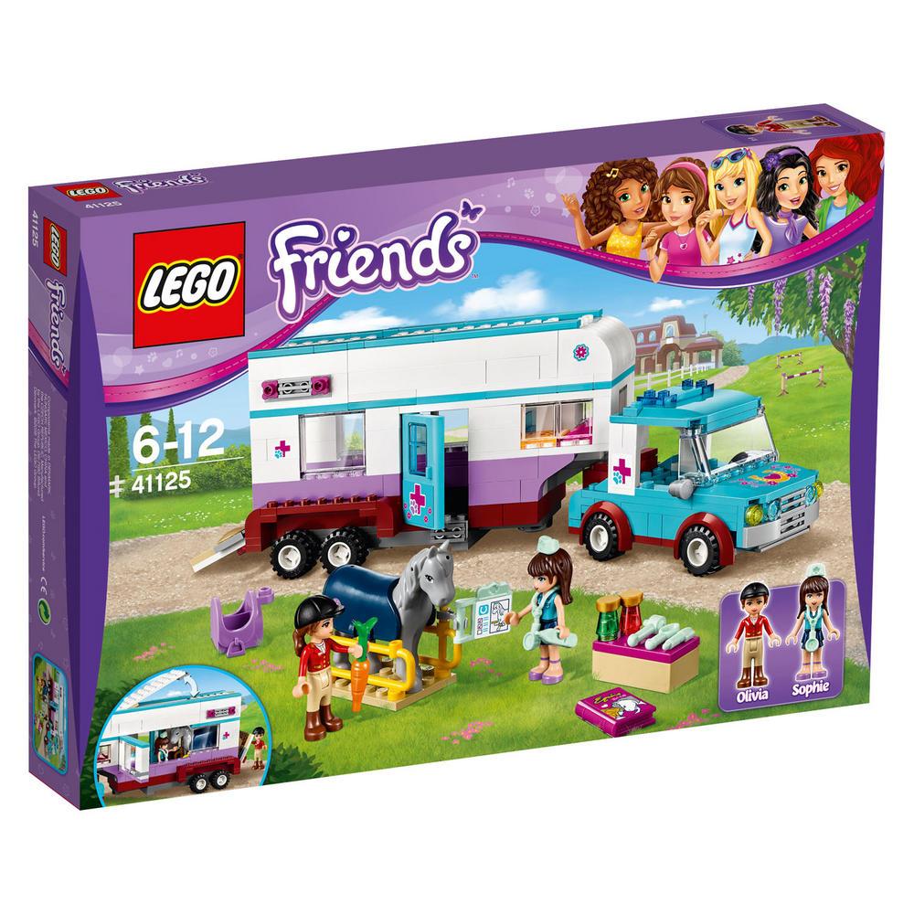 41125 LEGO Horse Vet Trailer FRIENDS