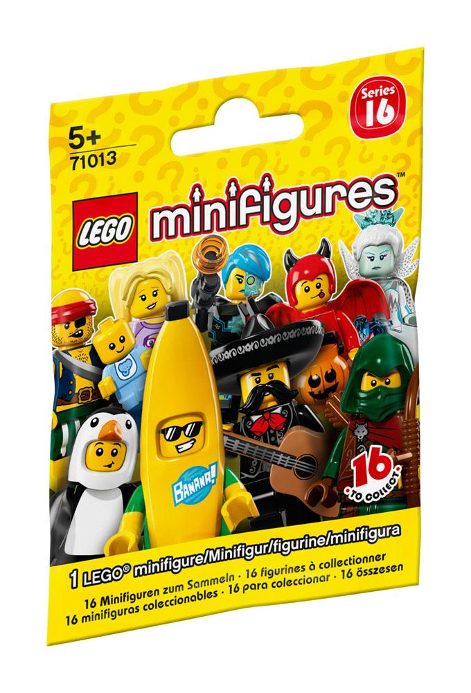 71013 LEGO Series 16 - 71013 MINIFIGURES