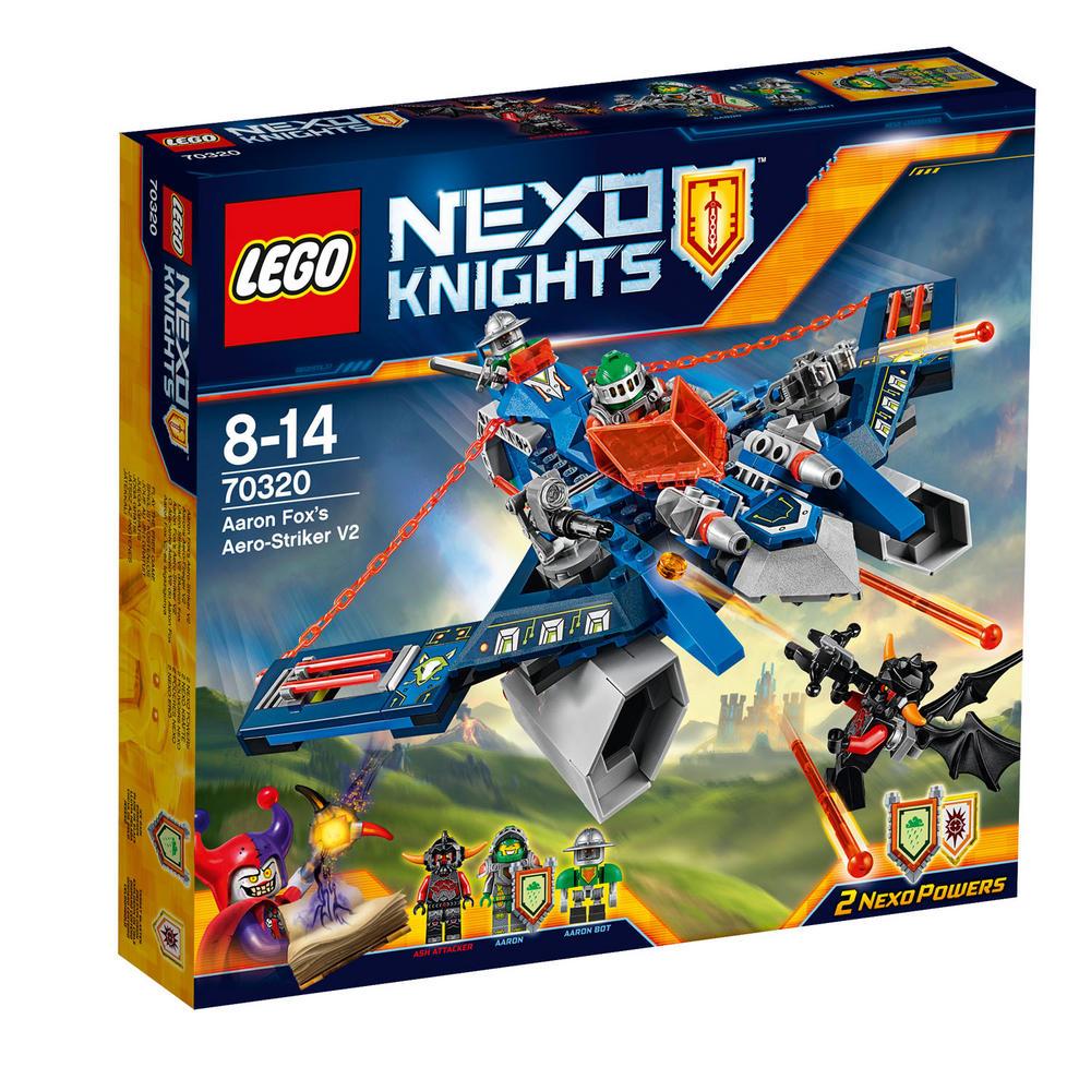 70320 LEGO Aaron Fox's Aero-Striker V2 NEXO KNIGHTS