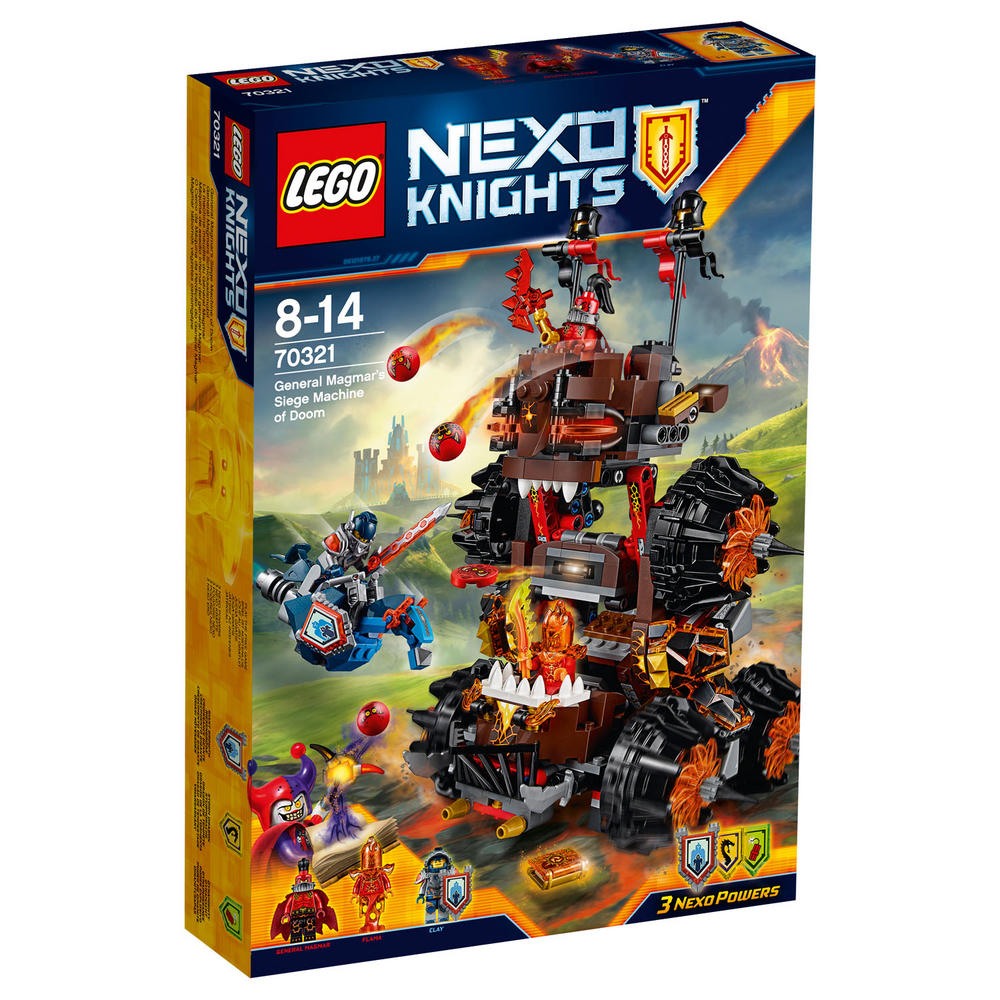 70321 LEGO General Magmar's Siege Machine Of Doom NEXO KNIGHTS