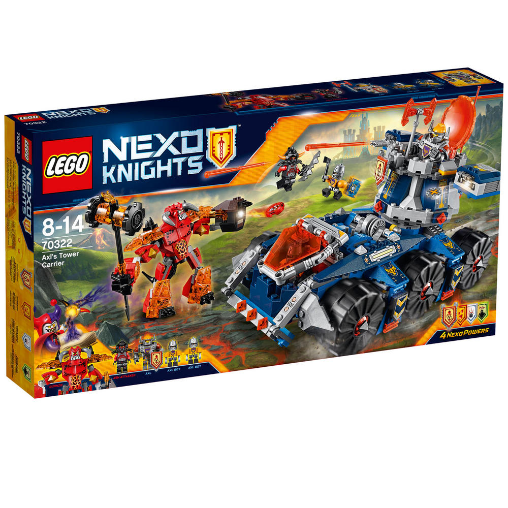 70322 LEGO Axl's Tower Carrier NEXO KNIGHTS