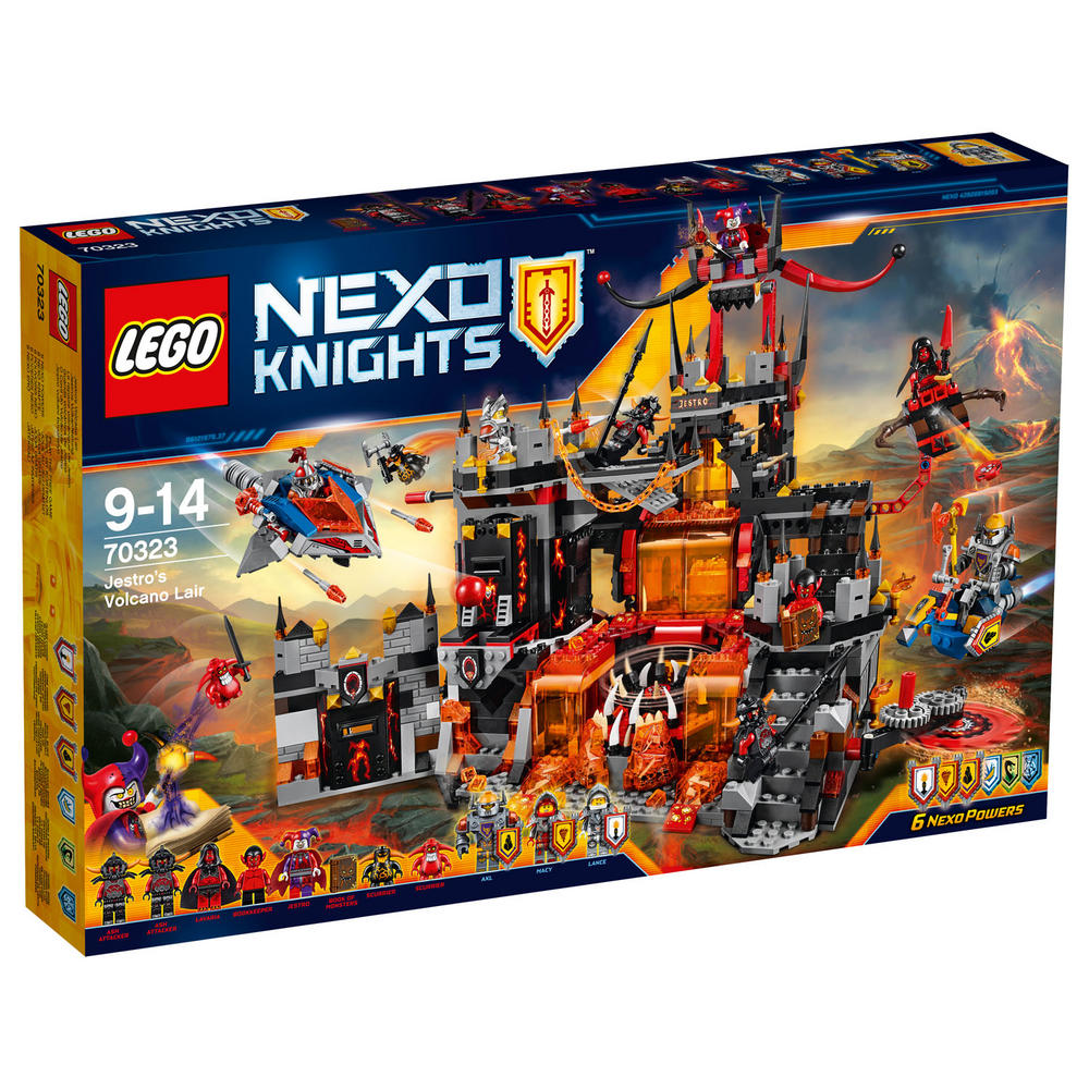 70323 LEGO Jestro's Volcano Lair NEXO KNIGHTS